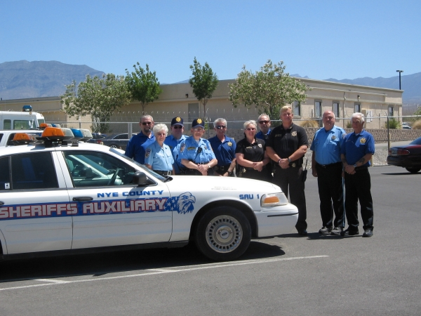 Volunteer Auxiliary supports Sheriff's Office in various