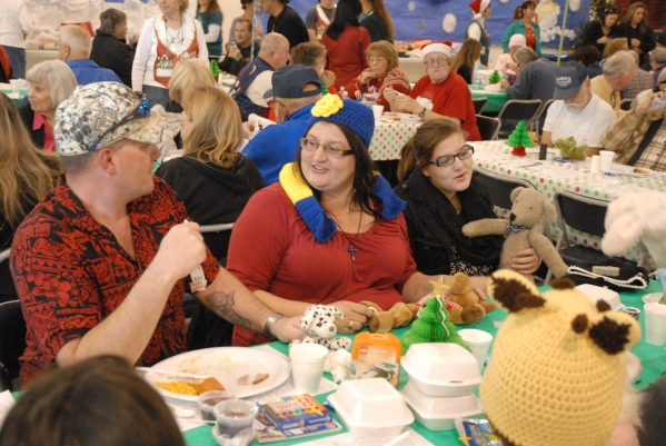 holiday task force prepares for free christmas day dinner event