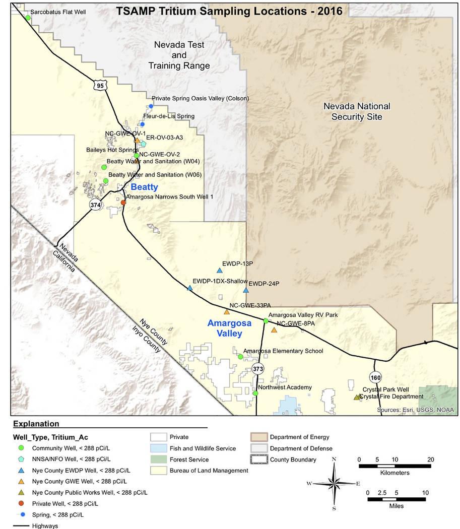 Website Site Map: County Wells Have Tritium Level Below Detection Limit