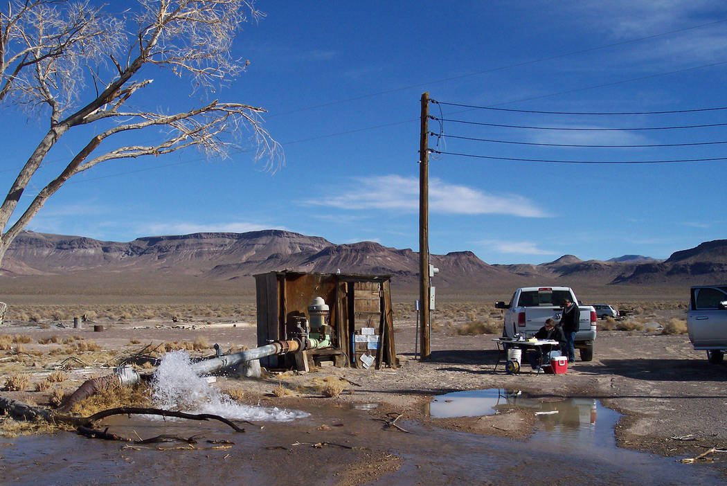 County officials tested 20 wells downgradient of the Nevada National Security Site last December. Recent results showed that all of the 20 wells were below the labs' detection limit of 288 picoc ...