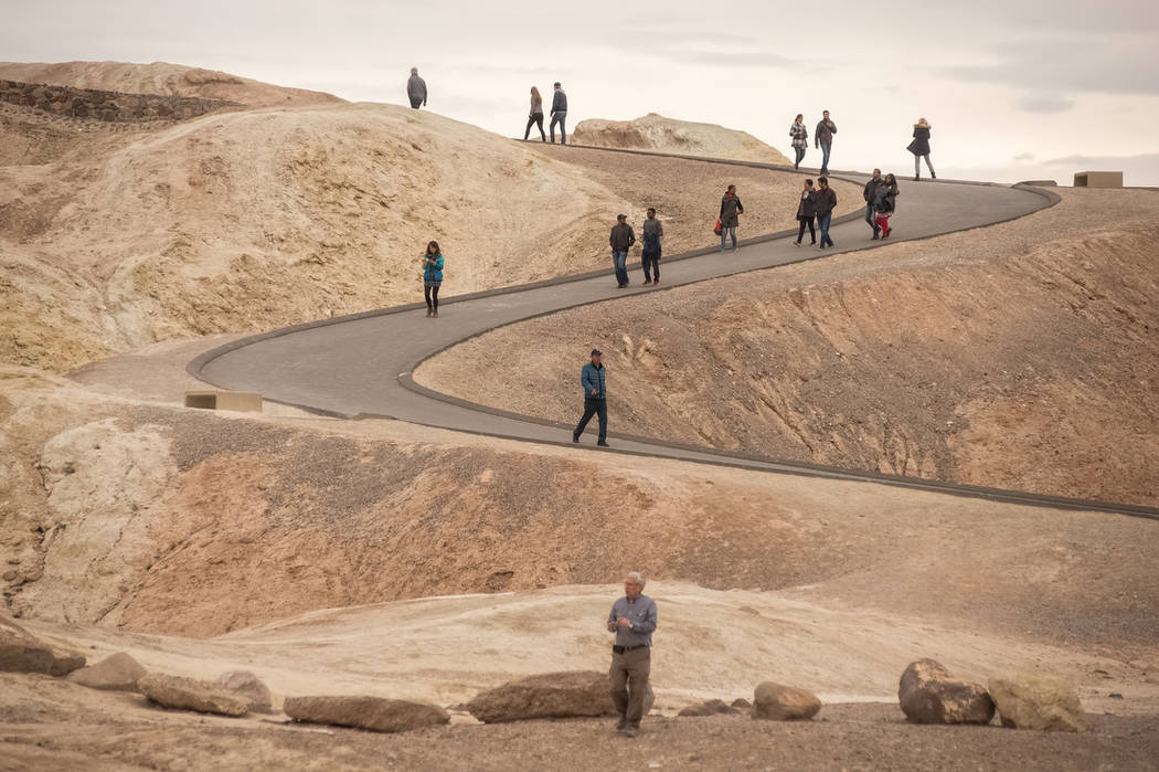 Death Valley National Park attracted a record 1,296,283 people from around the world in 2016, a 12-percent increase in visitation over 2015, park officials said in a press release. While officials ...