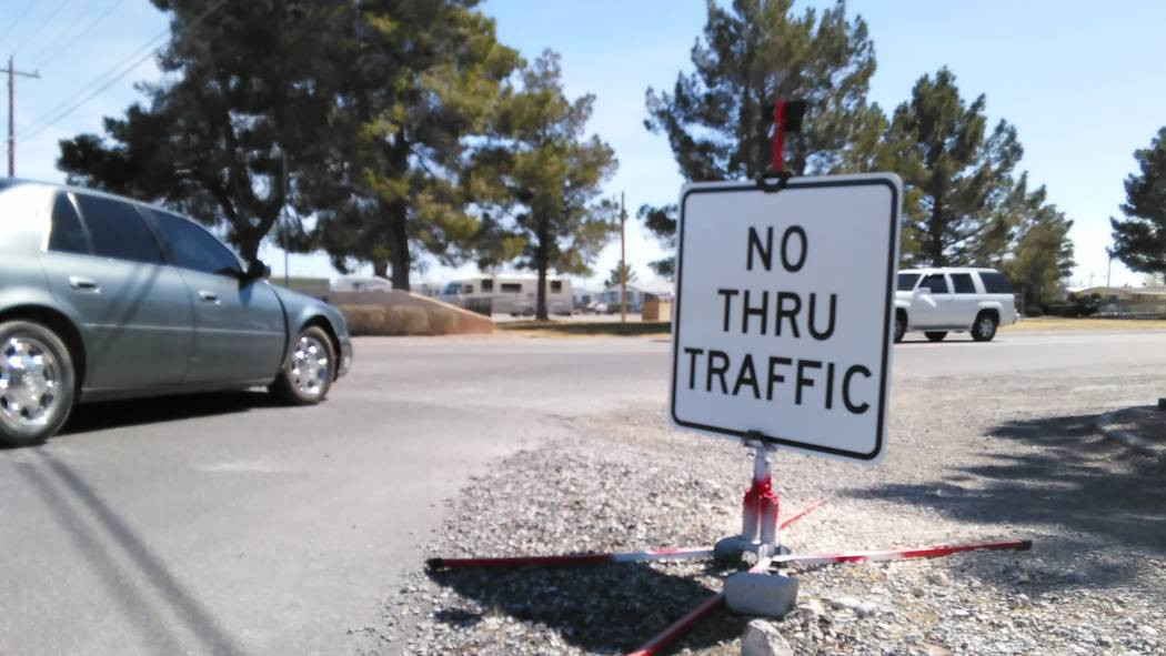 Officials with the Comstaock Park Homeowners Association are concerned about the safety of residents and increased traffic when vehicles cut through the community to access Highway 372 due to the  ...