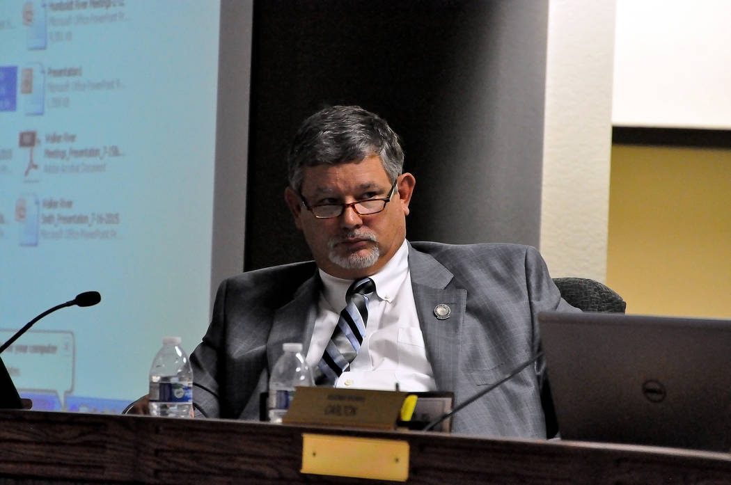 Nevada Assemblyman James Oscarson introduced a bill that aims to address beneficial water use in overallocated basins or basins that were designated critical management areas. Horace Langford Jr.  ...