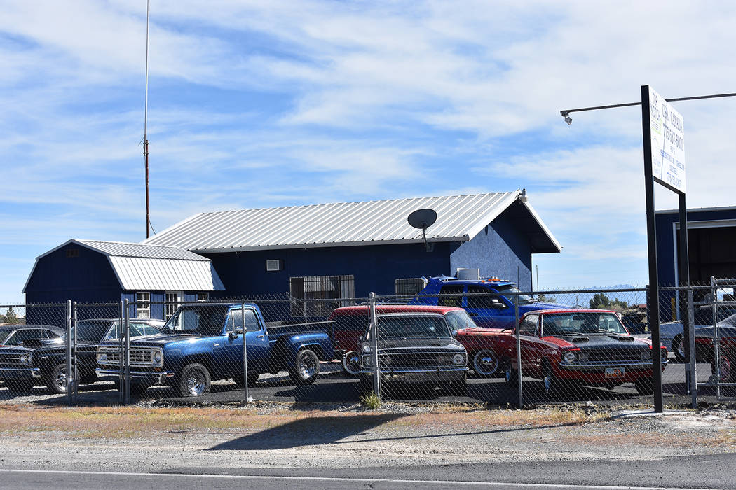 Top Notch Repairs, a Pahrump auto body shop is set to expand after the Pahrump Regional Planning Commission gave it a go-ahead. Daria Sokolova/Top Notch Repairs