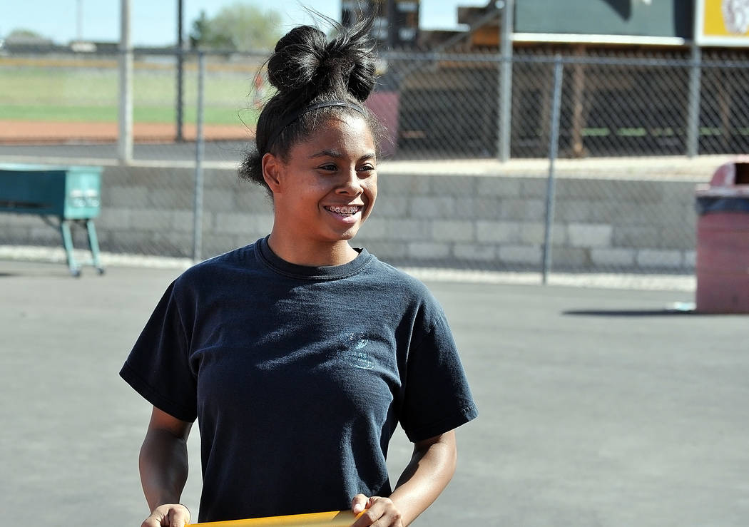 Freshman sprinter Jazmyne Turner, according to her coach, McKenzie Dean, could with more race experience and continuing to train hard, she could be one of Southern Nevada's higher ranked women s ...