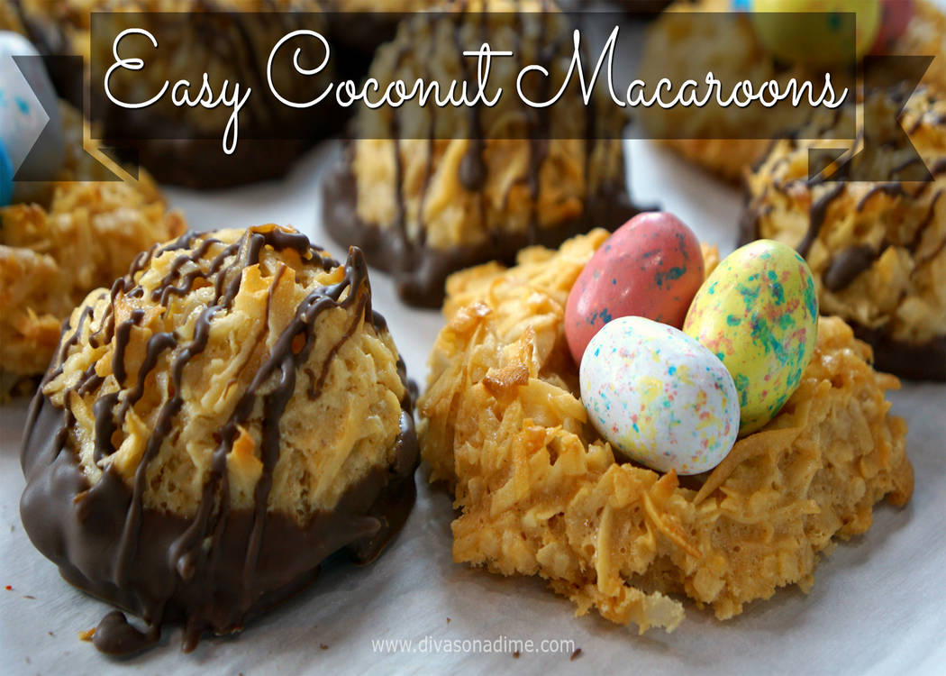 Macaroons can be a coconut lover's dream.