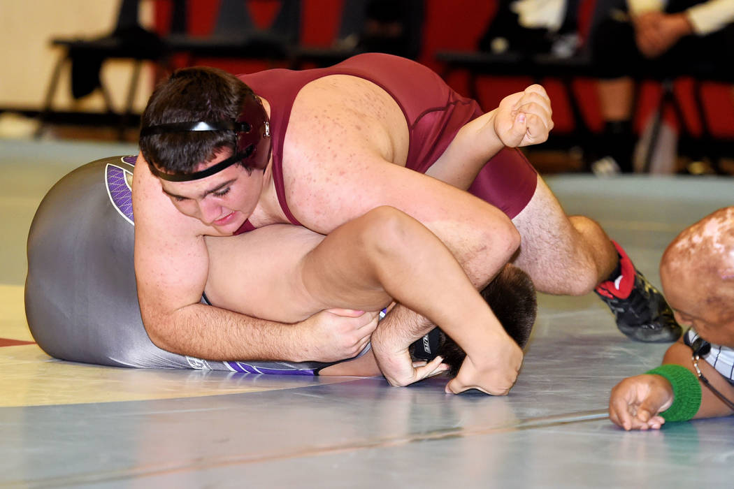 Peter Davis / Special to the Pahrump Valley Times According to Trojans wrestling coach Craig Rieger Wrestling may not see much change.