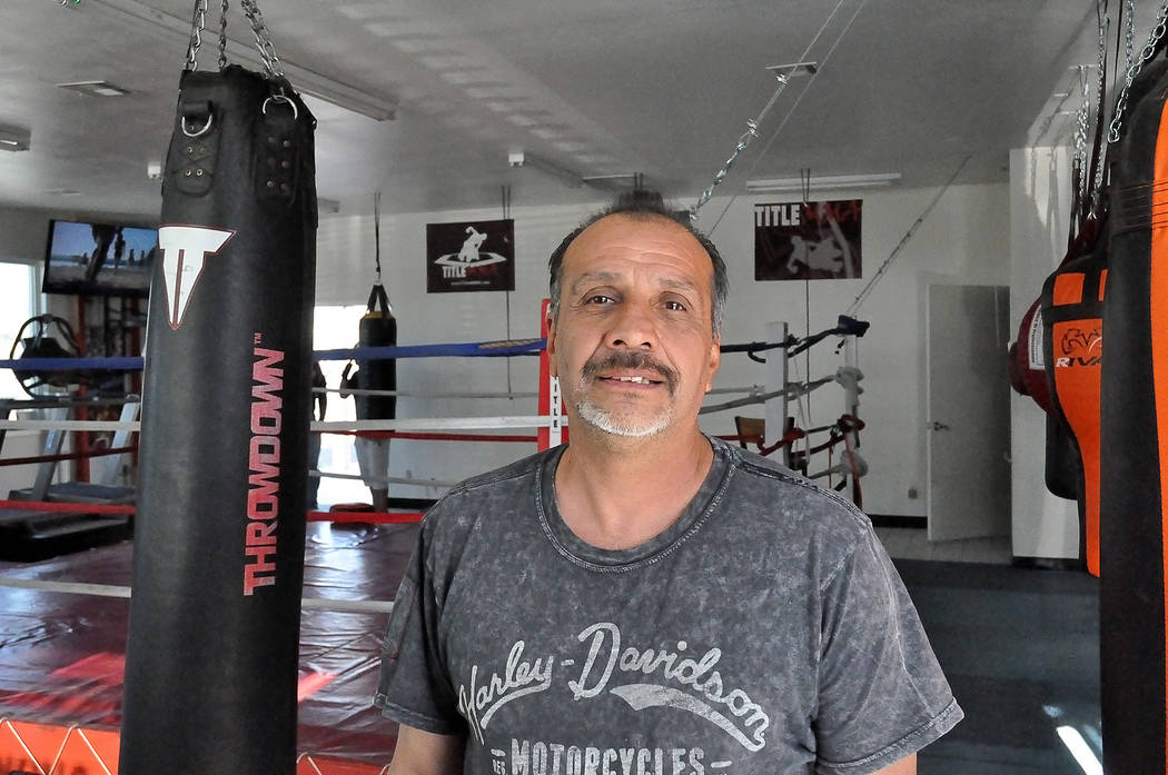 Horace Langford Jr. / Pahrump Valley Times   There is a new boxing coach in town with a new class. Stay tuned, more to come.