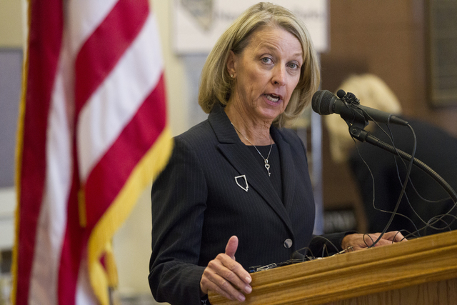 Erik Verduzco/Las Vegas Review-Journal  Nevada Secretary of State Barbara Cegavske as shown in a 2016 photo. Cegavske on Friday would not comment on how many people may have voted illegally or are ...