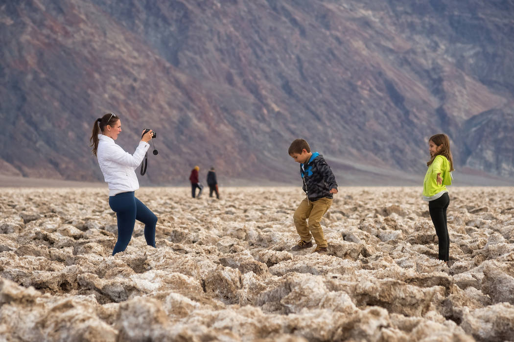 Special to the Pahrump Valley Times Death Valley National Park visitors spent a record $108 million in communities near the park last year, including Nye County, according to the National Park Ser ...