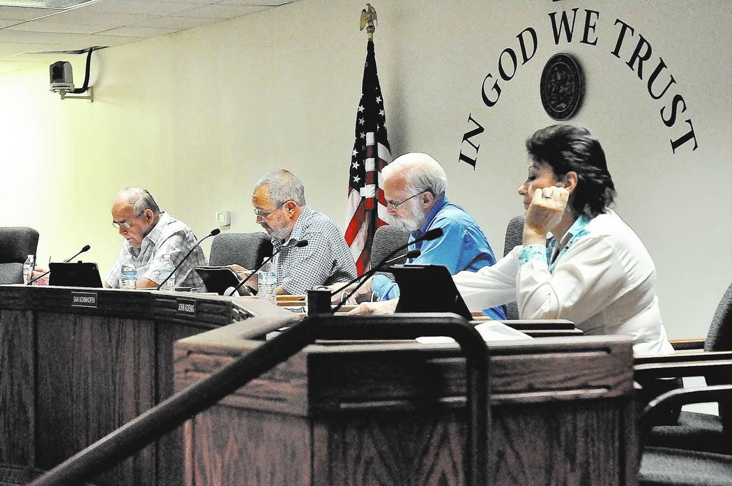 Horace Langford Jr. / Pahrump Valley Times -  BOCC Meeting Tuesday