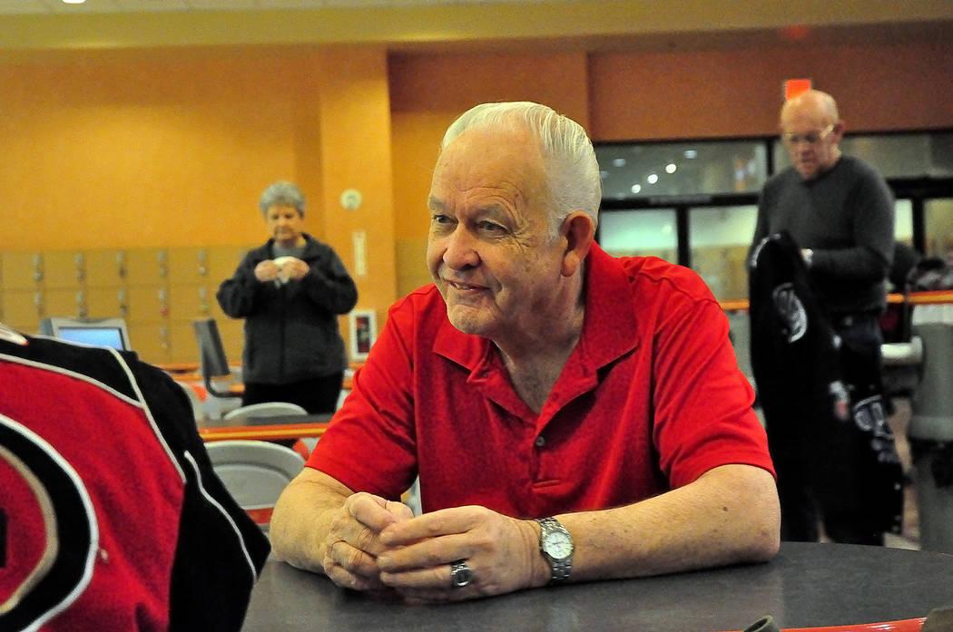 Horace Langford Jr./Pahrump Valley Times -  Bowler Jim Reynolds