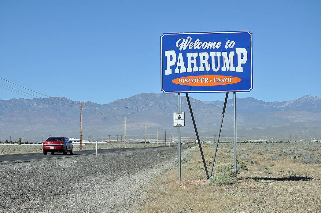Horace Langford Jr./Pahrump Valley Times  Pahrump Tourism Advisory Committee presented metrics for visitpahrump.com and its social media for April and March at the May 4 meeting.