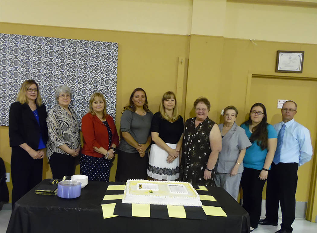 Special to the Pahrump Valley Times  Nine area educators were honored as the 18th annual Stand for Children Day Teacher of the Year celebration on Saturday, April 29. NyE Communities Coalition hos ...