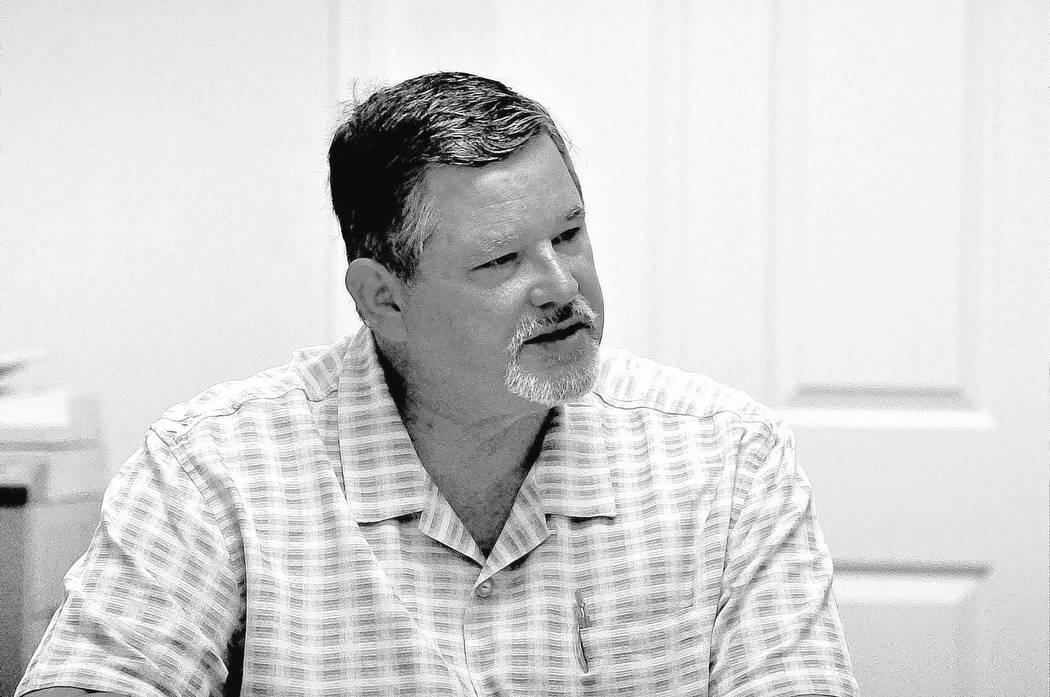 Horace Langford Jr / Pahrump Valley Times - Assemblyman James Oscarson