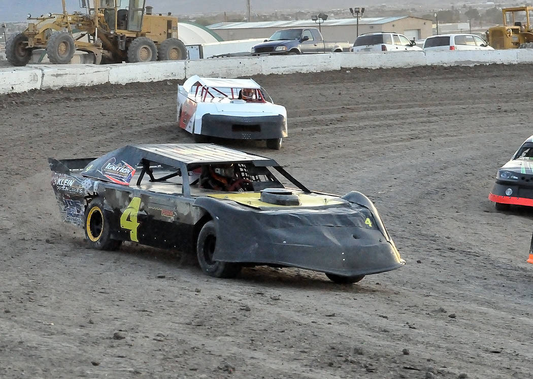 Horace Langford Jr./Pahrump Valley Times -  Steve Nash races around the Pahrump Valley Speedway during happier times. He passed away from a heart attack on May 12. A tribute to Nash will be at the ...