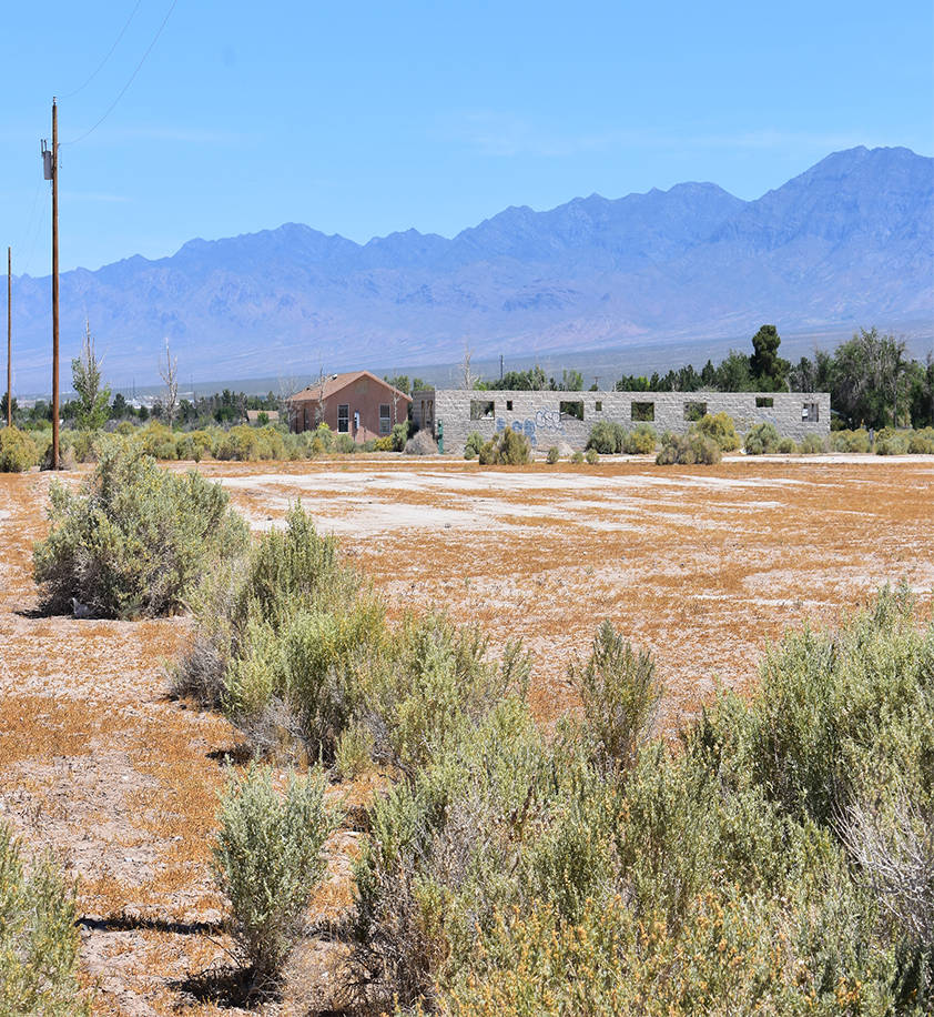 Daria Sokolova/Pahrump Valley Times The developer behind a proposed park at 2370 and 2470 E. Thousandaire Blvd. in Pahrump received a 16-months extension for a conditional use permit which allows  ...