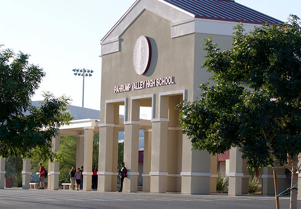 Graduation set for Pahrump Valley High School