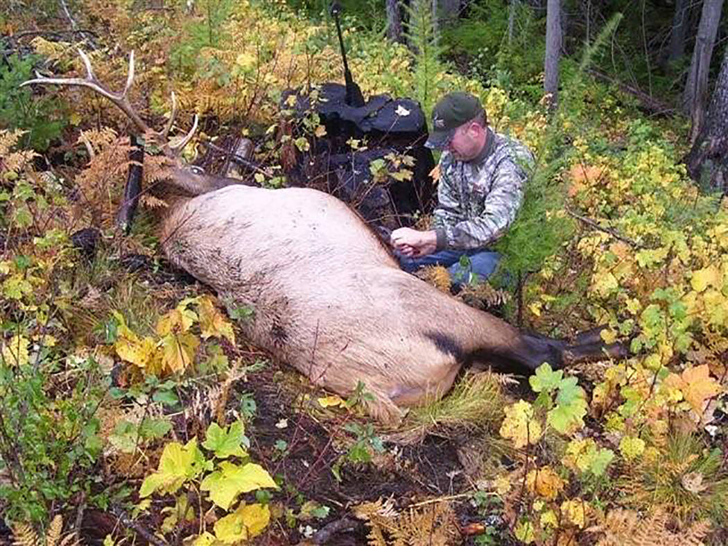 Photo provided by Dan Simmons The Marines landed and were ready for battle, as always, not with an enemy, Dan Simmons writes, but with other worthy adversaries: The mule deer, elk and moose of nor ...