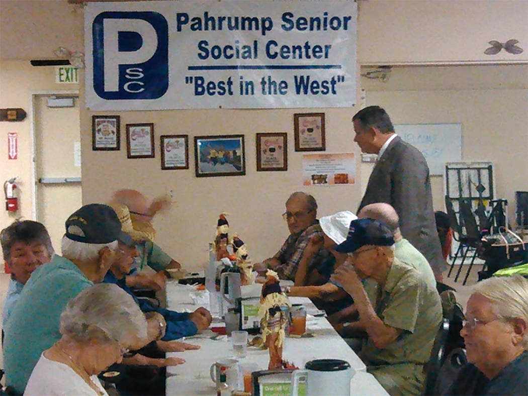 Pahrump Senior Center holding 'Sock Hop' party