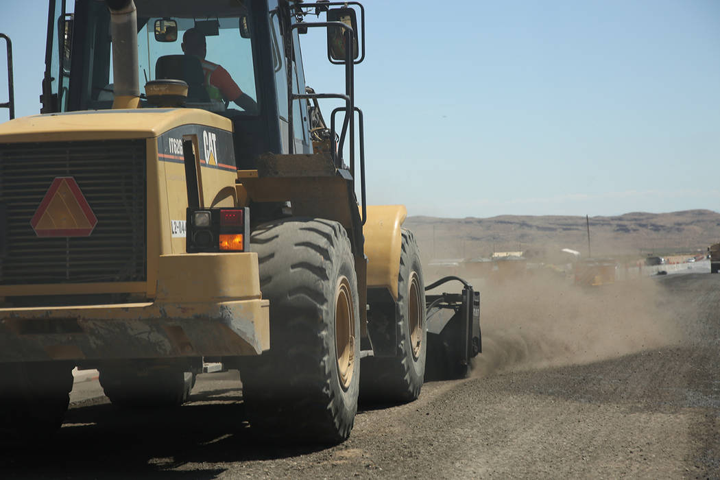 Special to the Pahrump Valley Times The Nevada Department of Transportation completed the $16.5-million widening project on State Route 160 in Southwest Clark County on Tuesday night, officials an ...