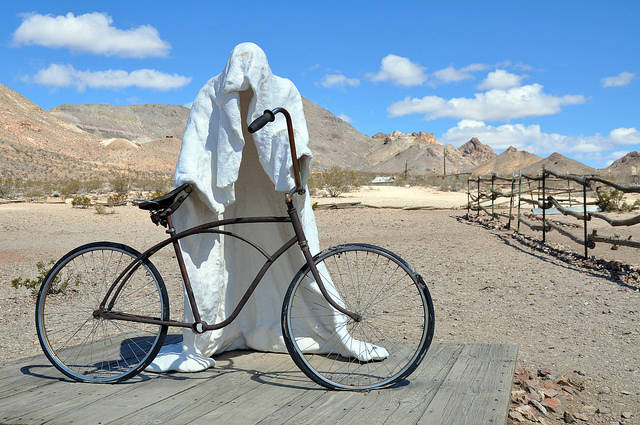 Special to the Pahrump Valley Times This year's Discover Your Nevada travel marketing campaign includes Beatty, Tonopah and Goldfield. The Free-Range Art Highway is one of the six road trip routes ...