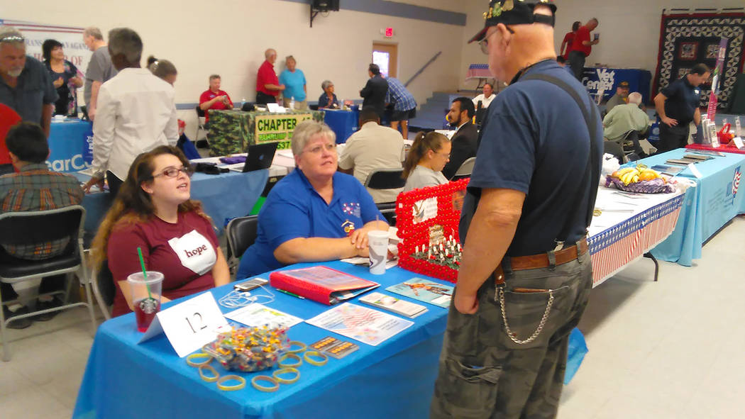 Pahrump area veterans event draws large crowd