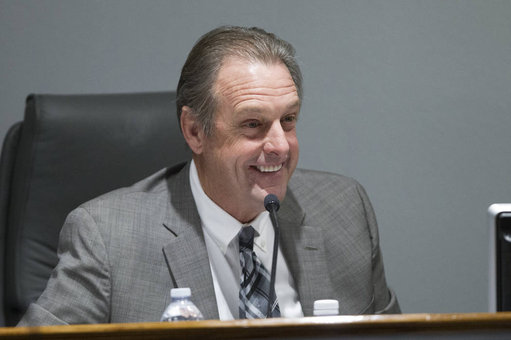 Erik Verduzco/Las Vegas Review-Journal  North Las Vegas Mayor John Lee, who called for a study on how nuclear waste might travel through Southern Nevada