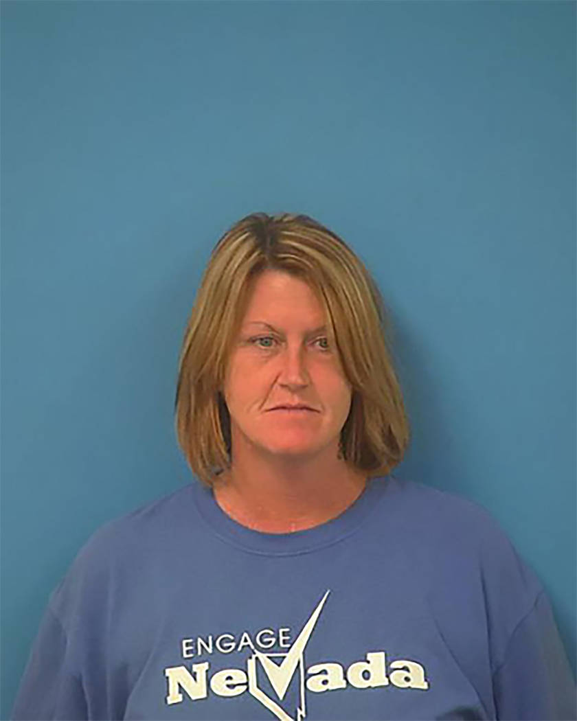 Pahrump resident Tina Marie Parks, 46, arrested last July on voter fraud charges was sentenced to serve 19-to-48 months in prison, with 24 days credit for time served. Judge Kimberly Wanker handed ...