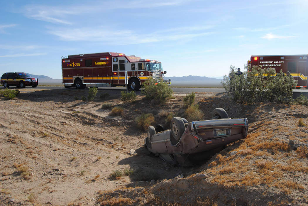 Wind-driven fires challenges Pahrump-area fire crews