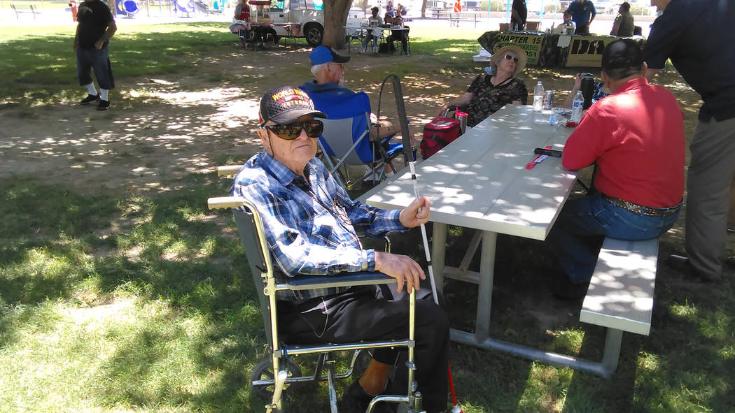 Veterans treated to food, entertainment in Pahrump
