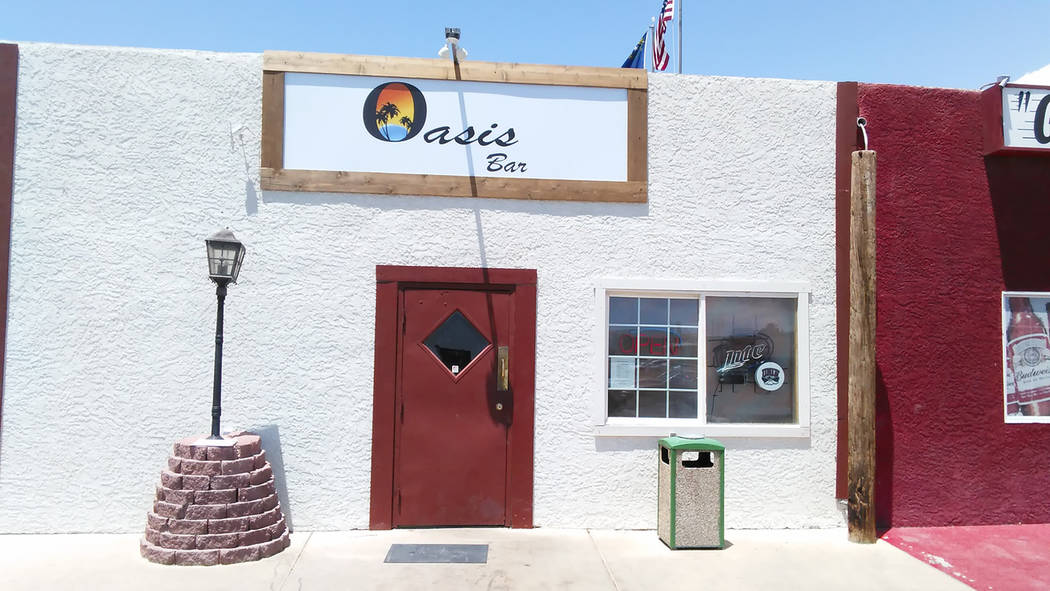"Selwyn Harris/Pahrump Valley Times  Formally Paddy's Irish Pub, owner Russ Rodgers decided to re-brand the business at ""Oasis Bar."" Rodgers made several major renovations to the business, in ..."