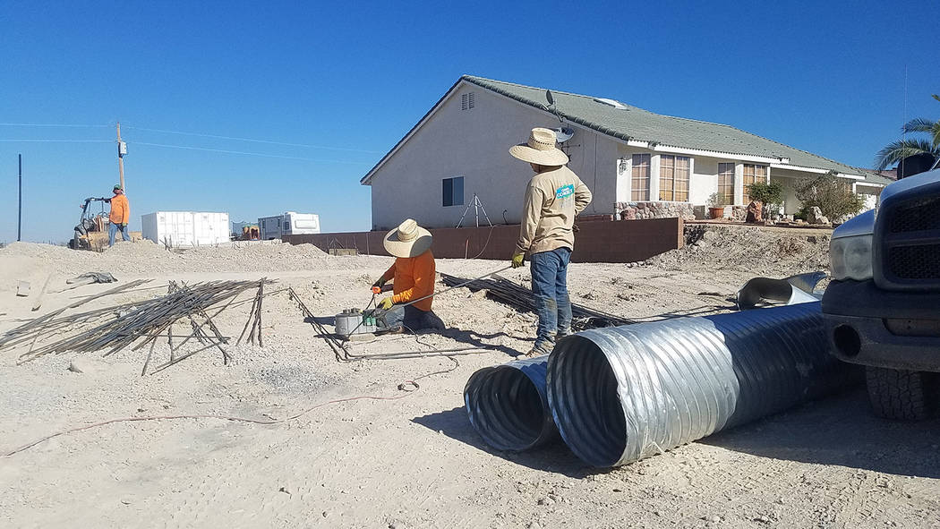 Heat continues to build in Pahrump region