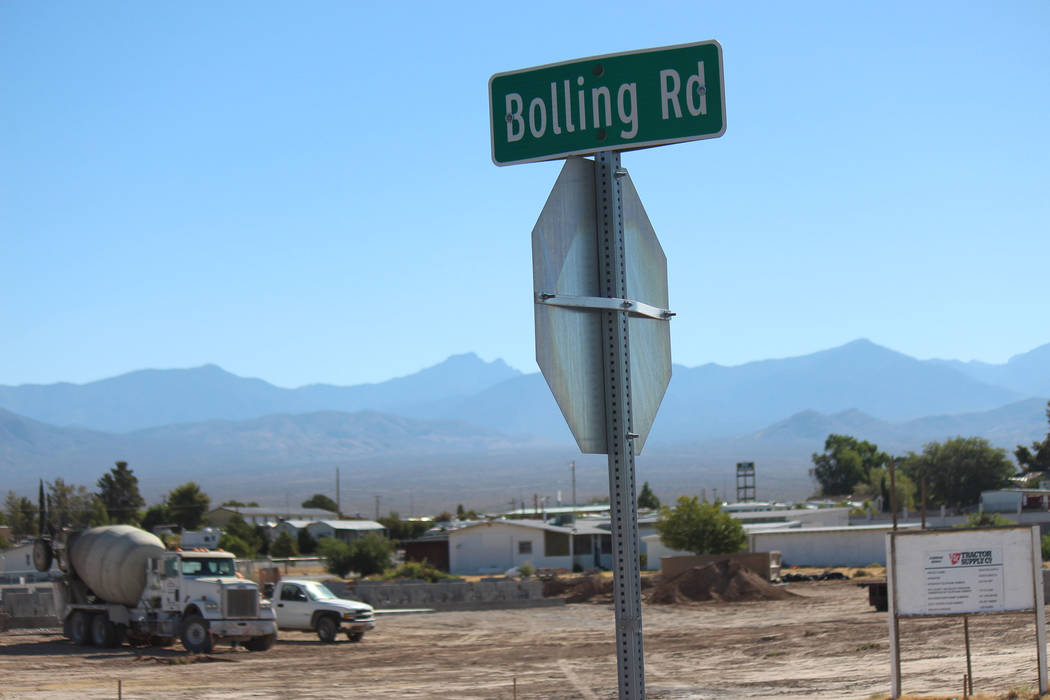 Jeffrey Meehan/Pahrump Valley Times The 19,097-square-foot Tractor Supply Co. retail store in Nevada will sit at the the corner of S. Bolling Road and Highway 372.