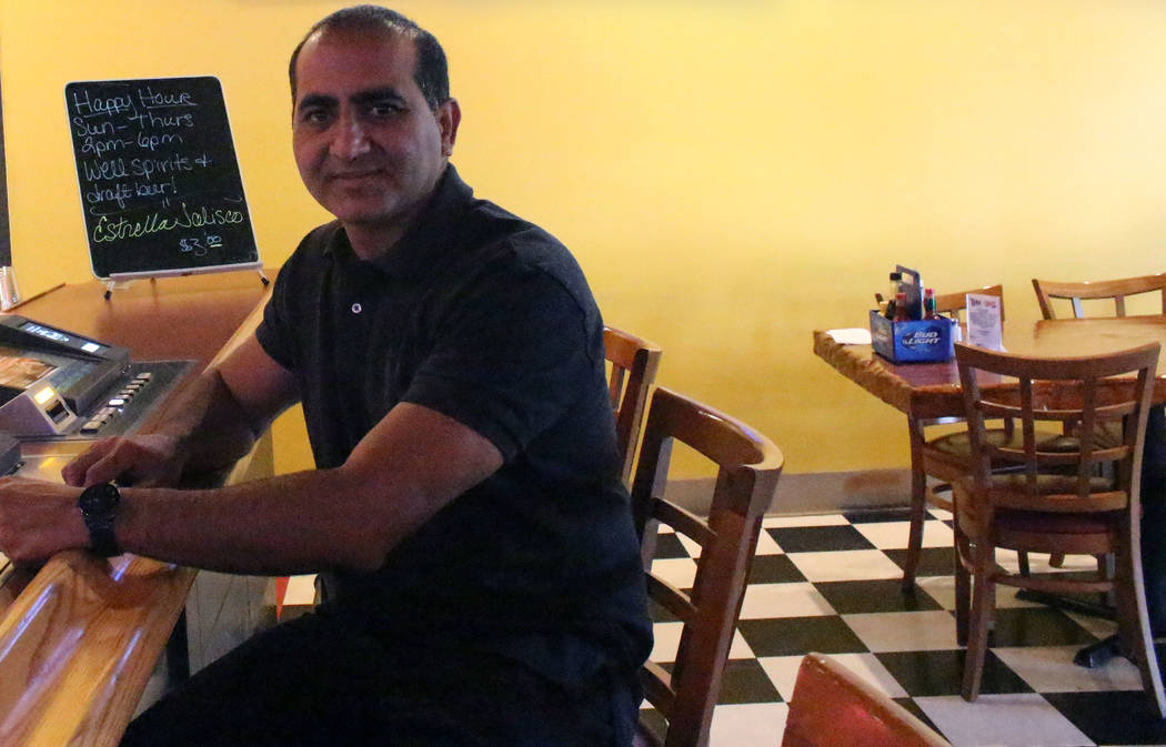 Photo by Jeffrey Meehan/Pahrump Valley Times  Sukhbir Dhillon, new owner Draft Picks and attached Best Western Motel and RV park, sits at a video poker machine at the sports bar at 1101 S. Highway ...