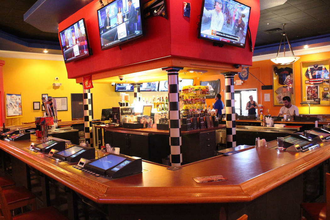Photo by Jeffrey Meehan/Pahrump Valley Times  Video poke machines return to Draft Picks sports bar at 1101 S. Highway 160 on June 28, 2017. The machines disappeared briefly with new ownership comi ...