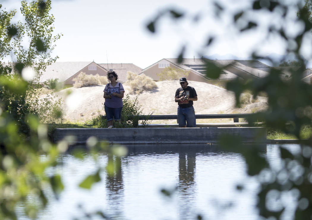 Richard Brian/Las Vegas Review-Journal  The region provides numerous fishing opportunities.