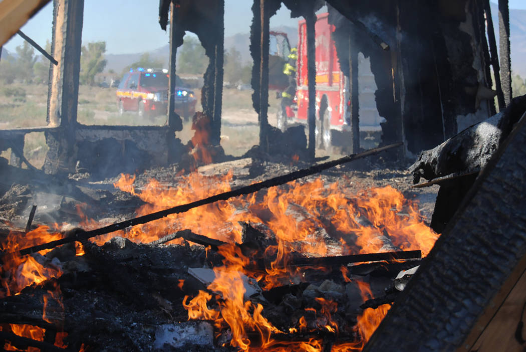 1 dead in rollover crash near Pahrump