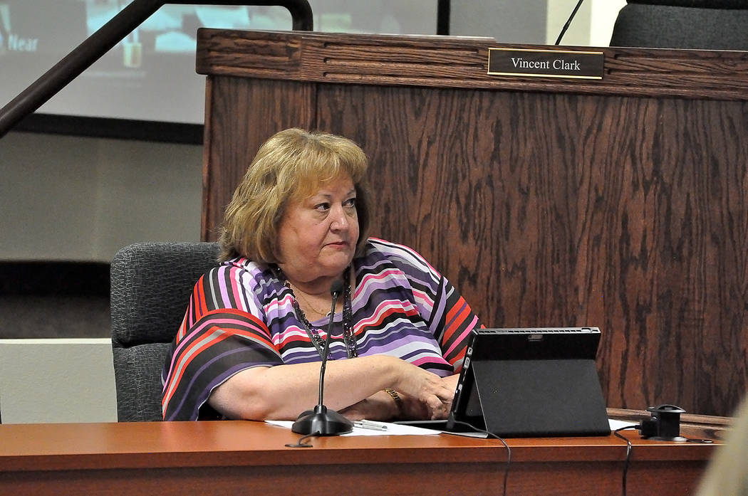 Horace Langford Jr./Pahrump Valley Times  Nye County Manager Pam Webster said the county had been strapped on staff for a while and didn't have anybody who could oversee the county's website. Arno ...