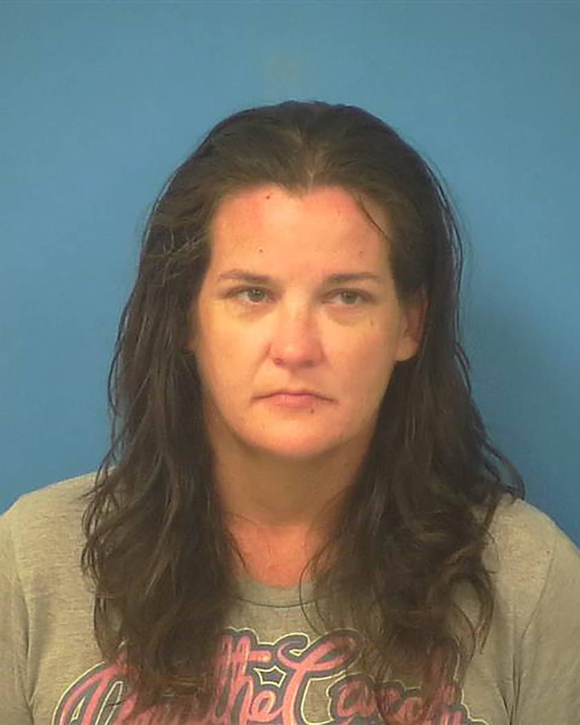 Special to the Pahrump Valley Times  Pahrump resident Brenna Lise England, 38, was taken into custody on June 28, authorities said.