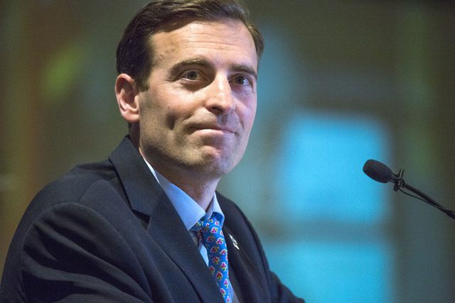Las Vegas Review-Journal Nevada Attorney General Adam Laxalt as seen in a file photo. Columnist Chuck Muth writes that the left's campaign to block conservative Nevada Attorney General Adam Laxa ...