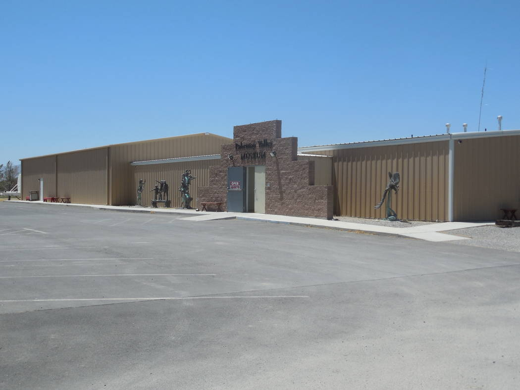 Pahrump Museum/Courtesy photo Pahrump Valley Museum entrance and parking.