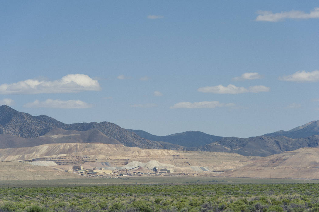 Special to the Pahrump Valley Times/ Kinross Gold Corporation, a Toronto-based gold mining company that owns Round Mountain Gold Mine is looking to expand its Nevada footprint. Kinross is currentl ...
