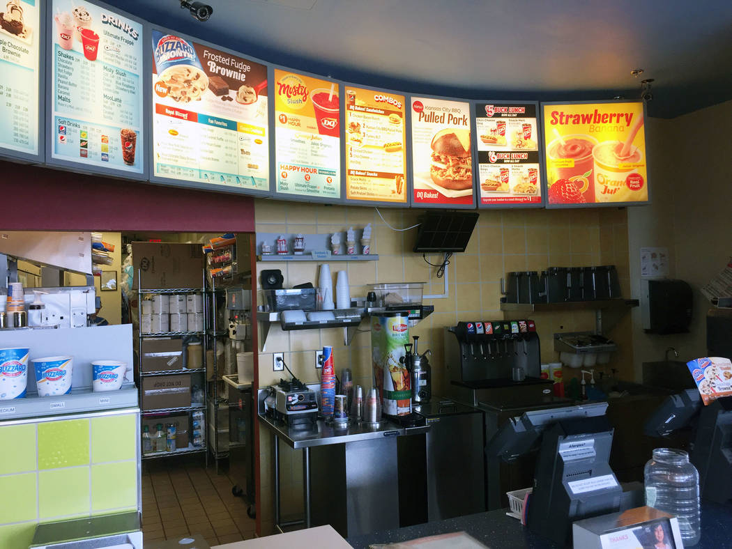 Jeffrey Meehan/Pahrump Valley Times Dairy Queen is a participating store for Miracle Treat Day, scheduled for July 27, to help fund medical treatments for Southern Nevada children.