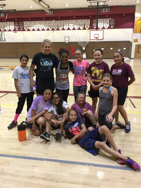 Special to the Pahrump Valley Times Dominique Maloy is putting on a back-to-school sports clinic from July 21-24 at the Pahrump Valley High School gym. Maloy teaches all athletes and works on ever ...