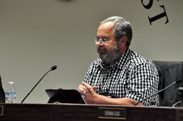 Horace Langford Jr. / Pahrump Valley Times  Nye County Commission Chairman Dan Schinhofen as shown a file photo.