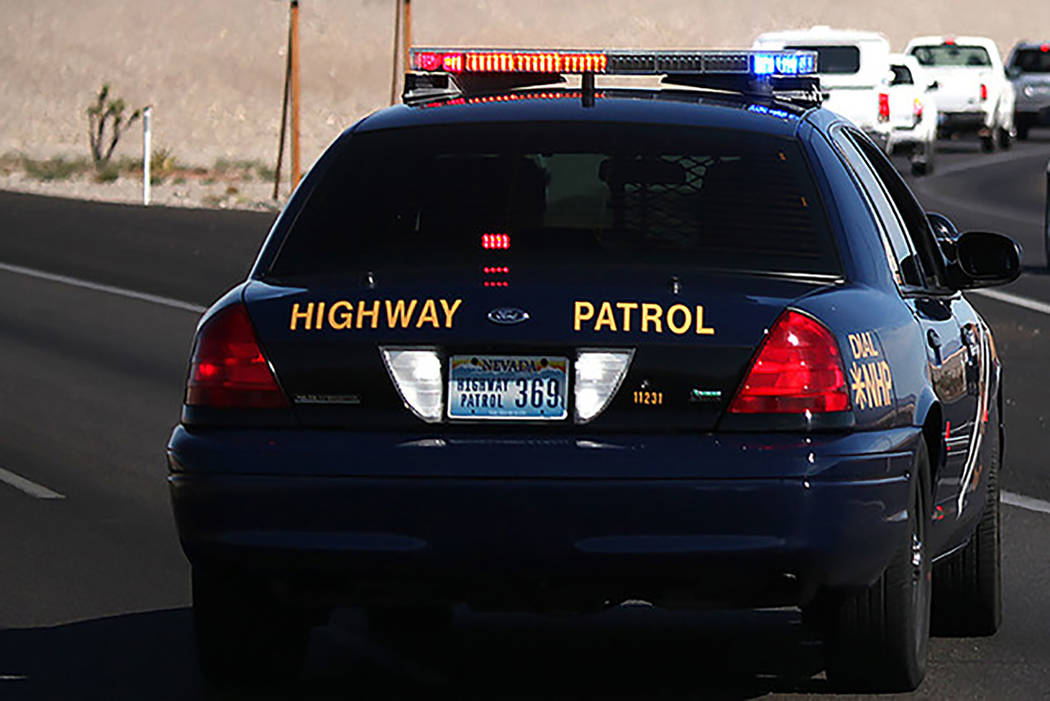 """Las Vegas Review-Journal file photo The """"Joining Forces"""" effort started July 15 in Nevada, the Nevada Highway Patrol announced."""