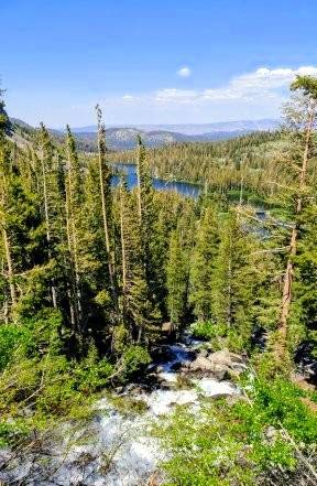 Gary Bennett Photography Gary Bennett photographs Twin Lakes, which sits at just over an elevation of 8,500 feet, from Lake Mary at just under an elevation of 9,000 feet in Mammoth Lakes, California.