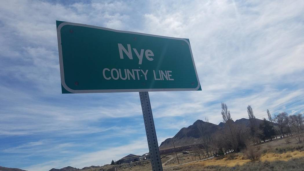 David Jacobs/Pahrump Valley Times The Nye County Town History Project was begun in 1987. Funded by the Nye County Commissioners using Yucca Mountain money,