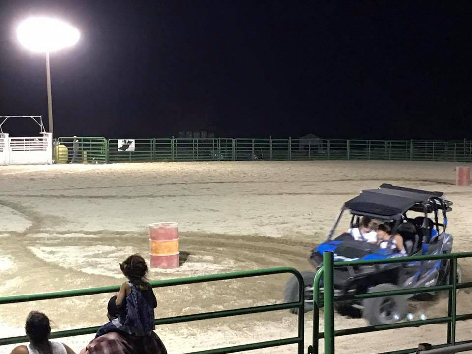 Kat Galli/Town of Tonopah The Smackdown Rodeo brought ATV and dirt bike action to the Tonopah Rodeo Grounds.